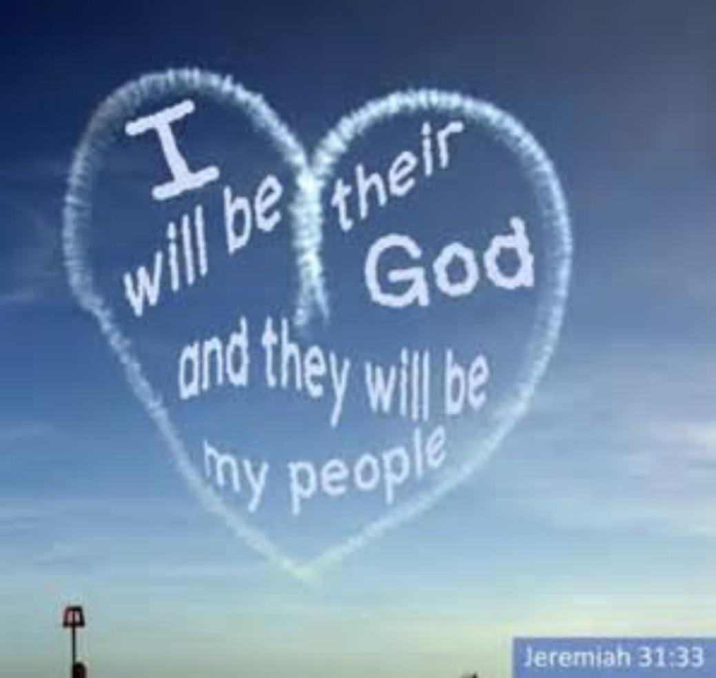 God promises a new covenant